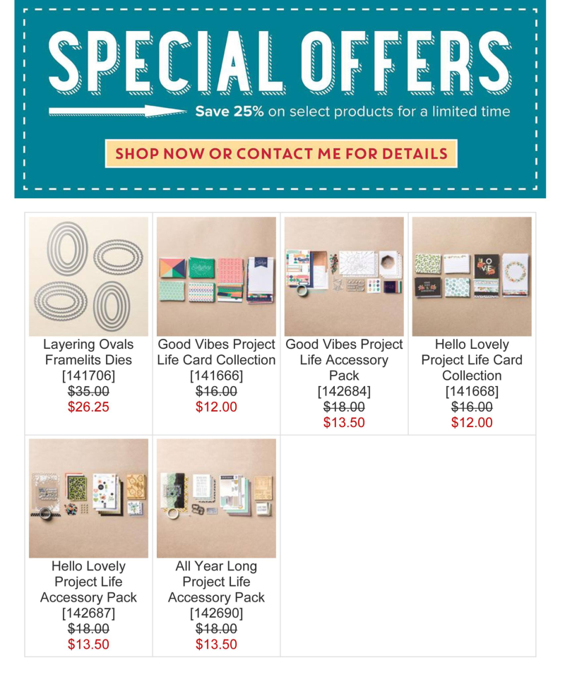 Week 3 special offers