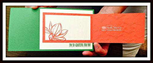 Kira's card