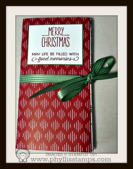 1 Christmas memory book