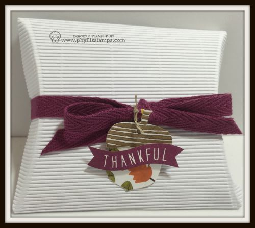 Thankful box