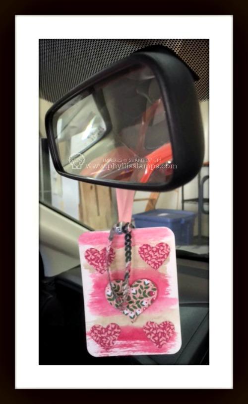Garage mirror