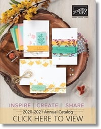 2020-2021 Stampin Up Annual Catalog