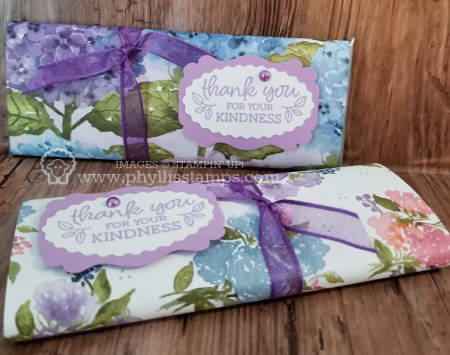 691.Kindness Wrapped Hershey's Bar _ Oval Occasions Cling Stamps